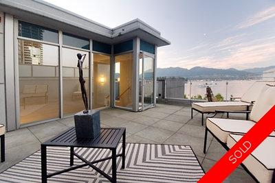 Coal Harbour Apartment for sale: The Carina 3 bedroom  Stainless Steel Appliances, Marble Countertop, Stainless Steel Trim, Tile Backsplash, European Appliance, Rain Shower, Glass Shower, Hardwood Floors 2,434 sq.ft. (Listed 2007-07-20)